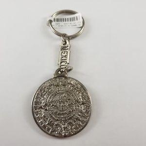 Accessories - New! Aztec Calendar Eagle Mexico Keychain Souvenir